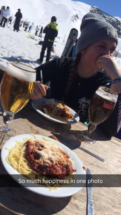 Bolognese and pints